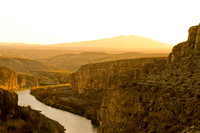 Daniels Ranch overlook, Rio Grande river